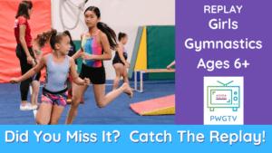 PWGTV Girls Gymnastics Replay